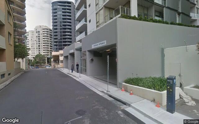 parking on Waverley Crescent in Bondi Junction NSW