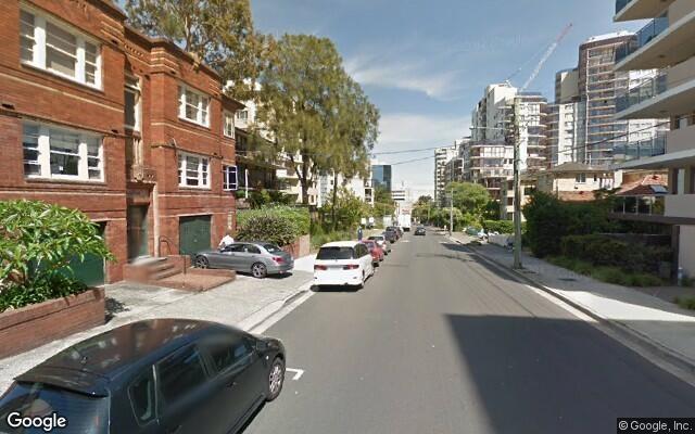 parking on Waverley Street in Bondi Junction