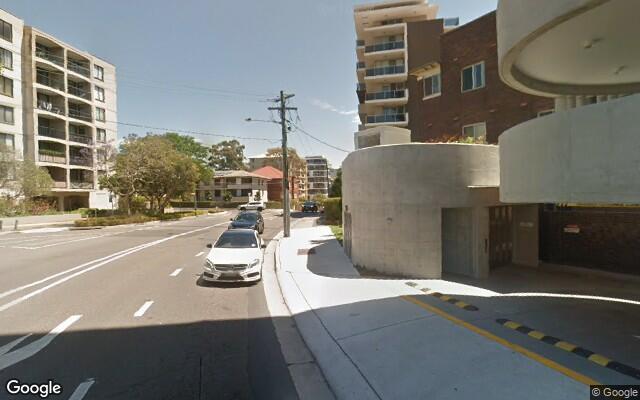 parking on Waverley Street in Bondi Junction NSW