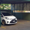 Undercover parking on Wharf Road in Gladesville NSW