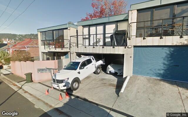 parking on Flinders Lane in Sandy Bay