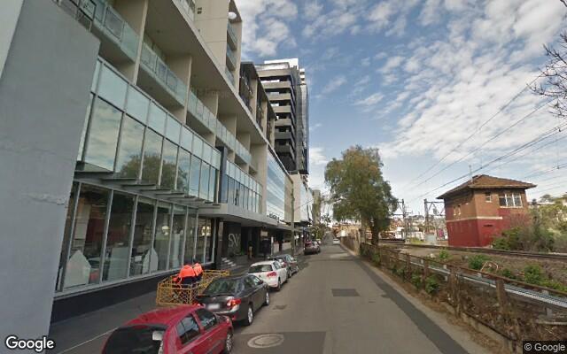 parking on Yarra St in South Yarra