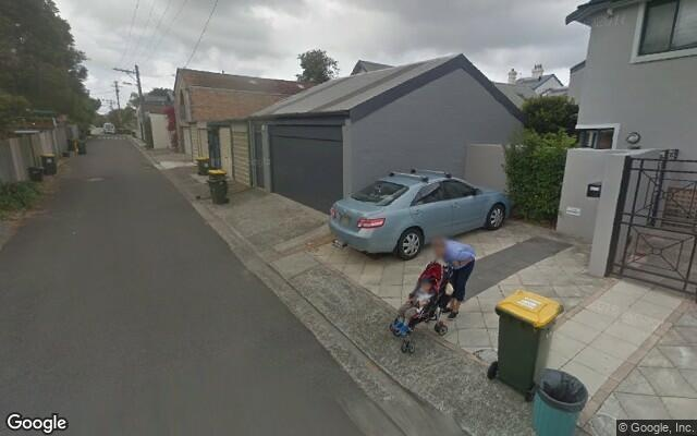 parking on Huntington Street in Crows Nest New South Wales