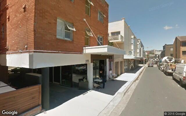 parking on Gould Street in Bondi Beach