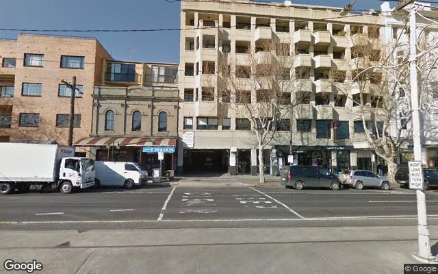 parking on Fitzroy Street in St Kilda Victoria