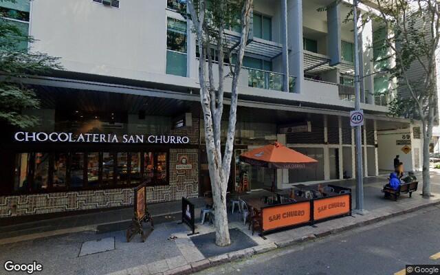 parking on Albert Street in Brisbane City Queensland
