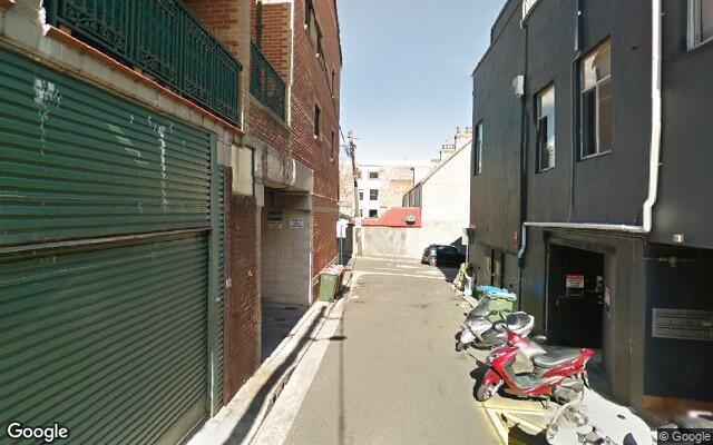 parking on Cleveland Street in Redfern