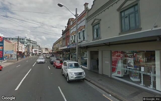 parking on Enmore Road in Newtown