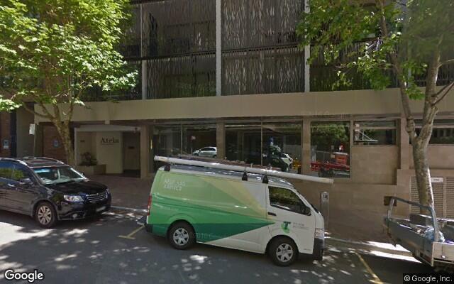 Indoor parking space - North Sydney