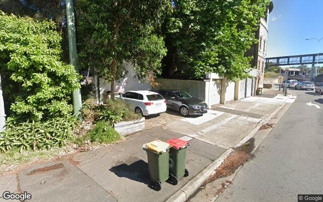 parking on Sir John Young Crescent in Sydney