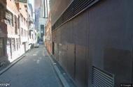 Car park space next to Melbourne Central station.