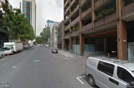 parking on A'Beckett Street in Melbourne