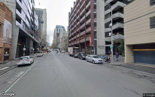 parking on A'beckett Street in Melbourne Victoria