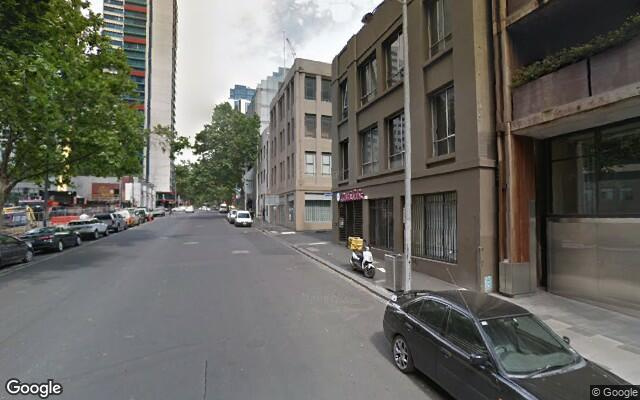 parking on A'Beckett Street in Melbourne Victoria