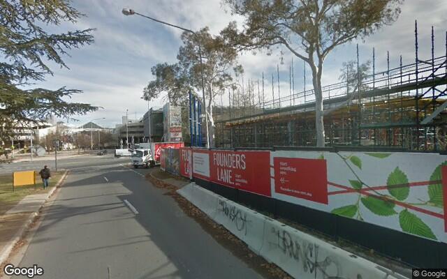 parking on Ainslie Avenue in Braddon Australian Capital Territory