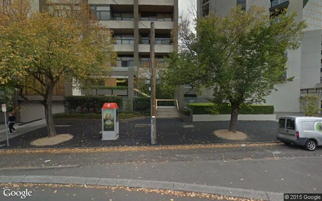 Parking just off St Kilda Road & Park Street - available from 01/03/2021