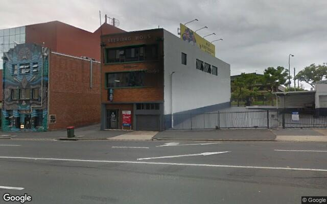 parking on Alfred Street in Fortitude Valley