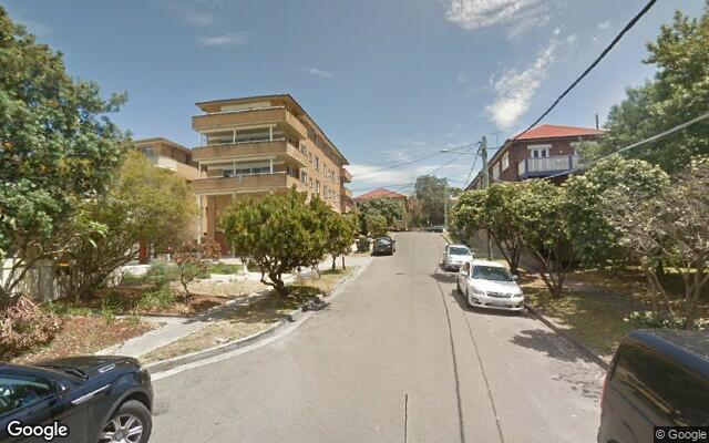 parking on Andrews Avenue in Bondi NSW