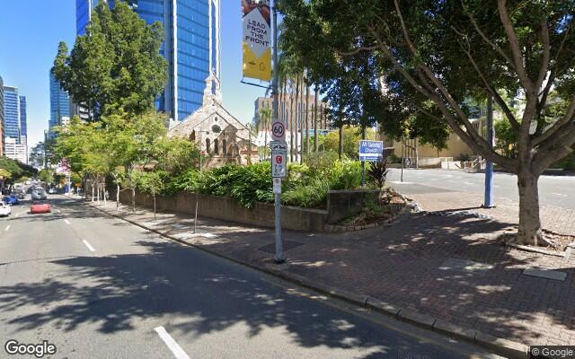 parking on Ann Street in Brisbane City Queensland