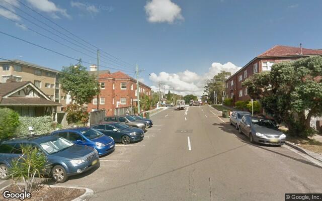 parking on Arthur St in Randwick