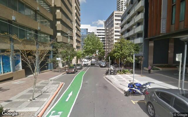 parking on Atchison Street in St Leonards