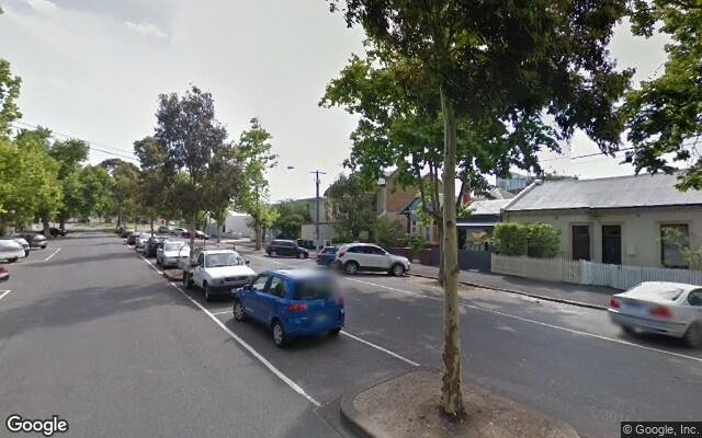 parking on Barkly St in Carlton