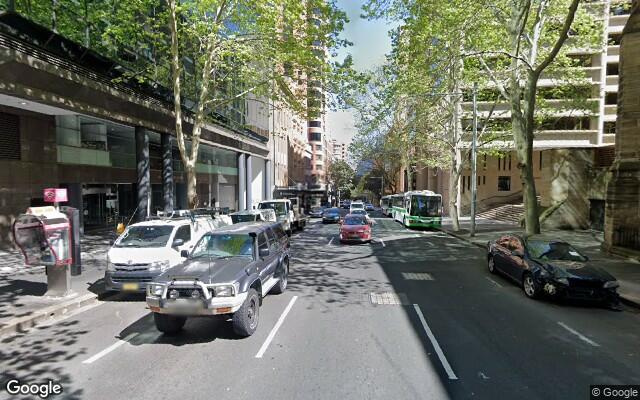 parking on Bathurst Street in Sydney Central Business District New South Wales