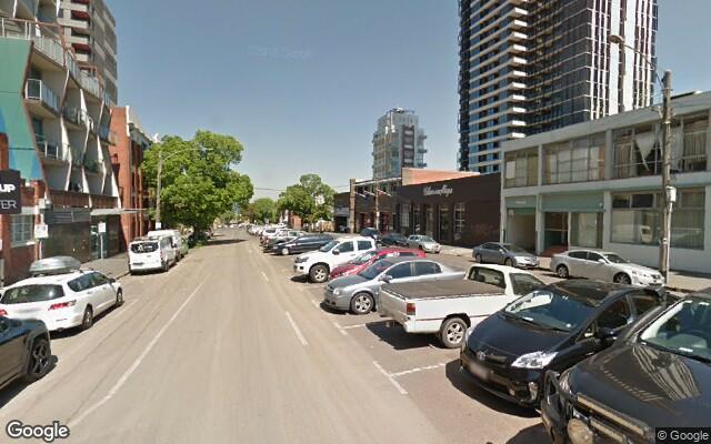 parking on Batman Street in West Melbourne Victoria