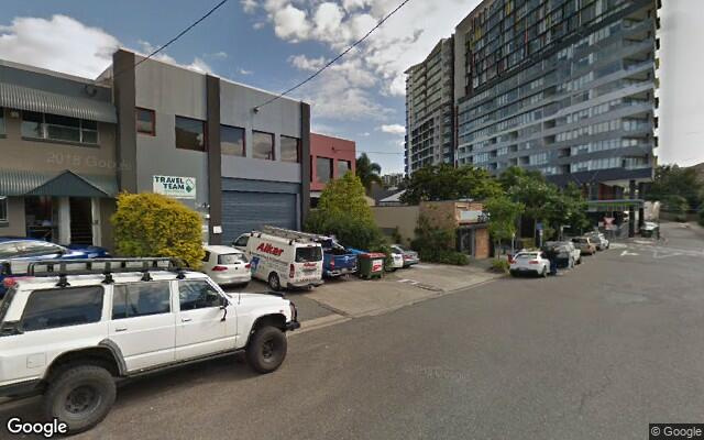 parking on Baxter St in Fortitude Valley QLD 4006