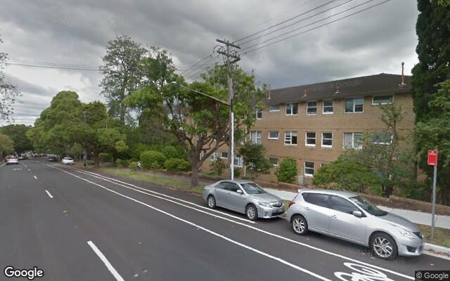 parking on Bay Road in Waverton NSW