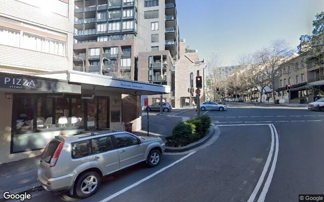 parking on Bayswater Road in Potts Point New South Wales