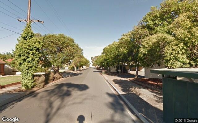 parking on Bells Road in Glengowrie