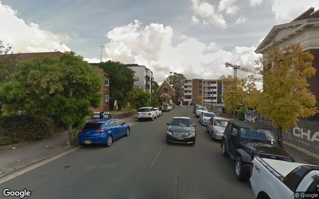 parking on Belmore Street in Burwood