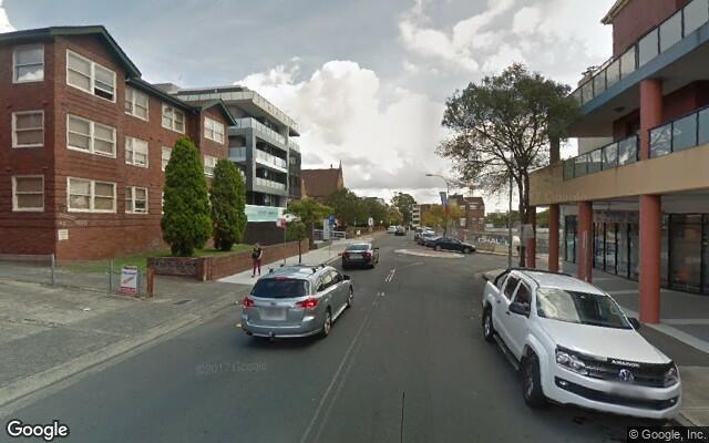 parking on Belmore Street in Burwood NSW