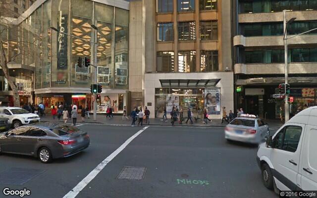 parking on Bond St in Sydney