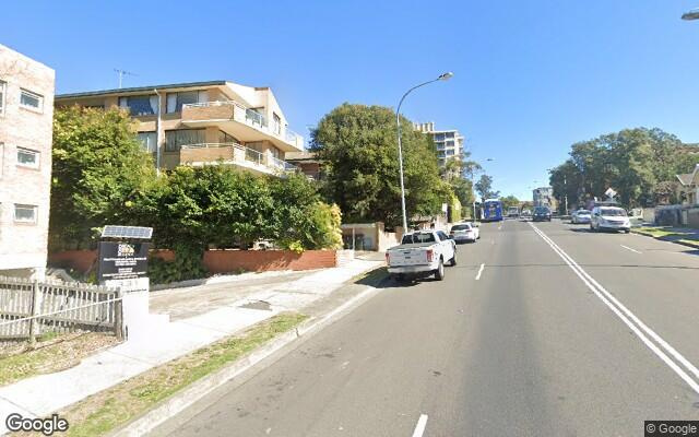 Across the road from Bondi Beach, undercover parking