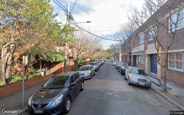 parking on Boronia Street in Redfern