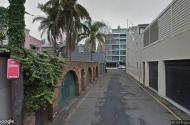 parking on Bossley Terrace in Woolloomooloo