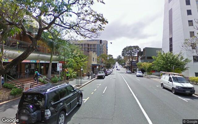 parking on Boundary Street in Brisbane