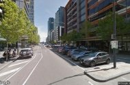 parking on Bourke Street in Docklands