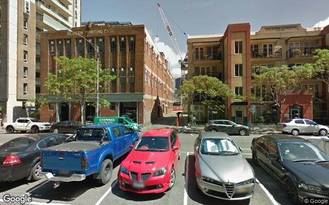 parking on Bouverie Street in Carlton VIC