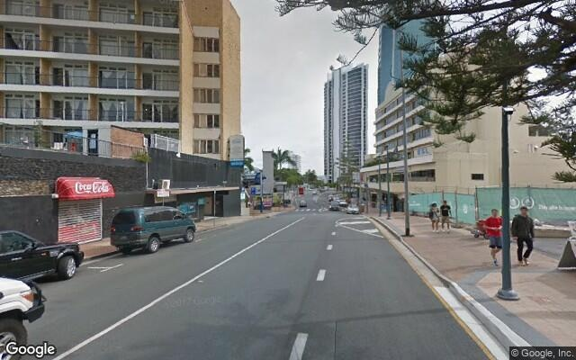 parking on BreakFree Cosmopolitan in Surfers Paradise Boulevard