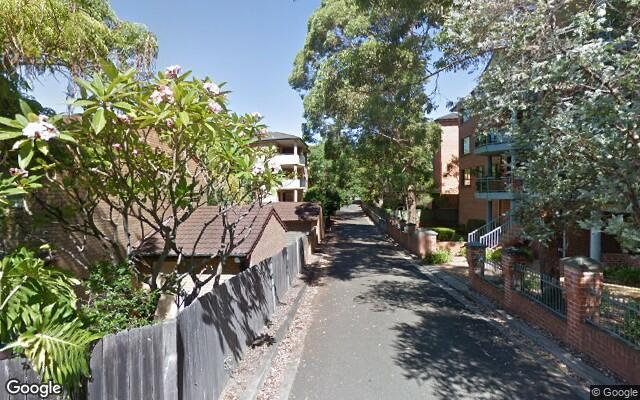 parking on Brickfield Street in North Parramatta New South Wales