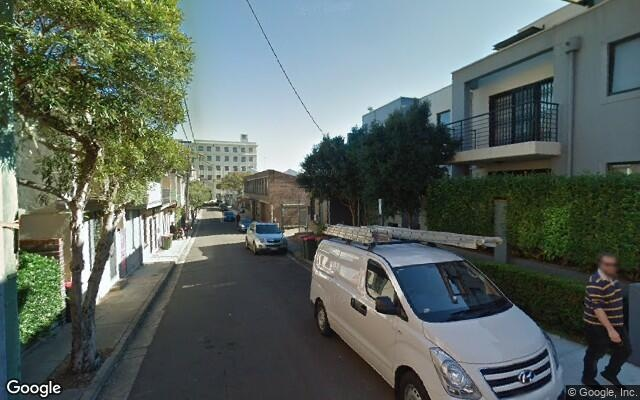 parking on Briggs Street in Camperdown NSW