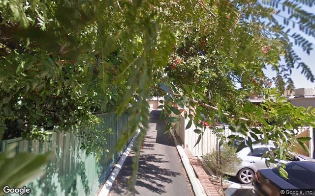 parking on Brooks Lane in West Leederville