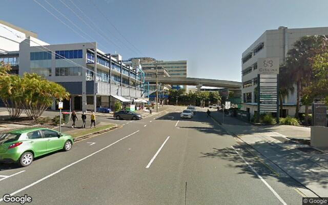 parking on Campbell St in Bowen Hills