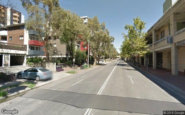 Parking space near Parramatta station