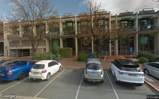 parking on Captain Cook Crescent in Griffith ACT