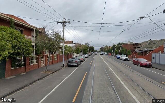 parking on Carlisle Street in St Kilda Victoria