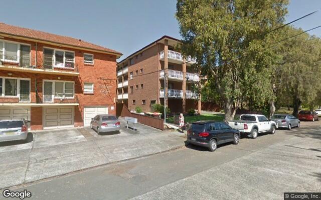 parking on Carrington Avenue in Hurstville NSW